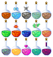 2_Pixel Art Potions by JEricaM