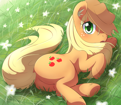 Applejack by aymint