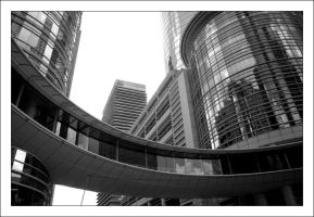 Pathway between Buildings by XtremeDezigns