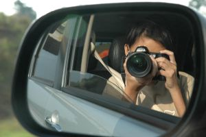 me and my camera on the road by luckysevenstars