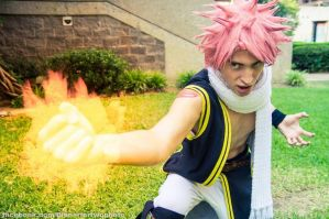 Natsu Dragneel:  Come and get it! by OORR