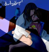 Hinata and Hanabi- good night sweetie by desiderata-girl