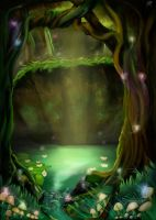 Enchanted Swamp by klmiller1991