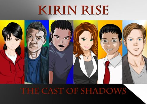 Kirin Rise The Cast of Shadows - Banner by Black-Flip