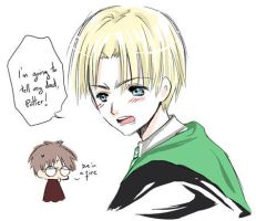 Draco the brat. by inma