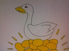 The Goose that Laid Golden Eggs by Kailie2122