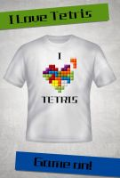 I Love Tetris by Buxtheone