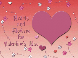 Hearts and Flowers Valentine by WDWParksGal
