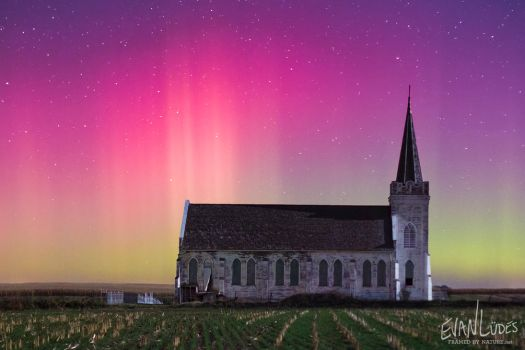 A Light Above the Chapel by FramedByNature