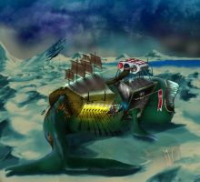 Whale Ship II by capottolo