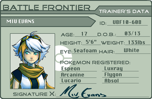 Trainer Card by Adcacai