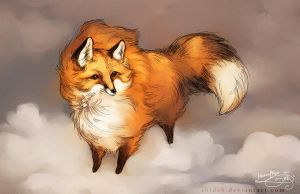 Wind Fox by shideh