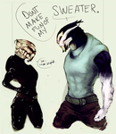 Commish- Your Sweater Sucks by Aleigh-B