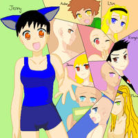 Group pic: Preview by JennytheYugioh5dsfan