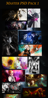 Master PSD pack 1 by deFXign