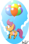 MLP: Flying Chicken by DatPonyPL