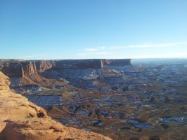 Winter At Canyonlands by Ganbatte123