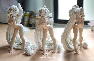 Sand figure, WIP step 2 by Atelier-Enaibi