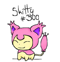 Skitty Doodle by Tammiikat