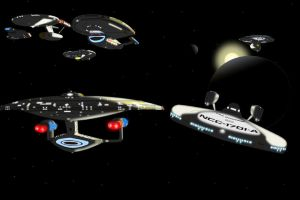 History of Star Trek 44 yrs by CaptainBarringer
