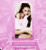 ARIANA GRANDE PNG by DannyEditionss