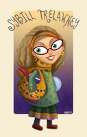 Professor Trelawney by blastedgoose