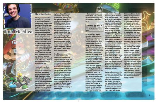 Game informer Magazine Page: 4-5 by mermaidfan