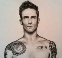 Adam Levine by duringthisoperation