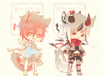 Auction : Ringling Species Set 2 [CLOSED] by HyRei