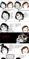Your Favorite Martian Rage Comic by AmandaGoldheart