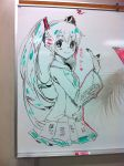 Hatsune Whiteboard by oceantann