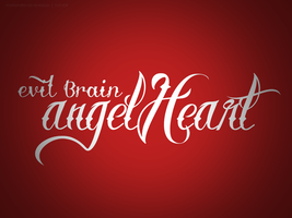 evil brain, angel heart... f*ck by tedioart