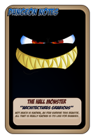 Monster Hall by JeffPerryman