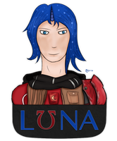 Lunathena by lirodon