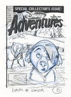 Brother Bear DA Cover V10 by tombancroft