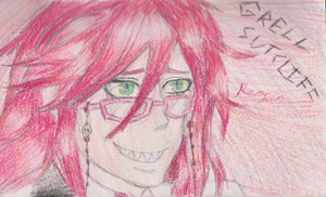 Grell Sutcliff by pungender