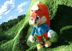 Conker Papercraft by Mr-Shin