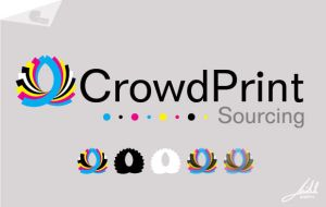 Crowd Print Logo by jmillgraphics