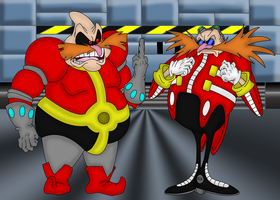 Robotnik Thoughts of Eggman by CountRamsely