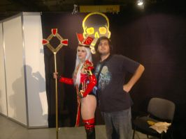 Me and Whitemane by TheW0lfen