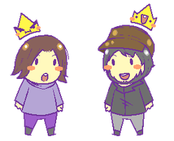 GAME GRUMP KINGS by DarkHakumaru