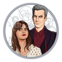 The Doctor and Clara Oswald by RabidDog008