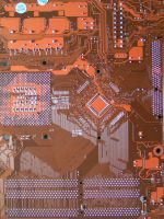 Orange Motherboard sdxy-stock by sdxy-stock
