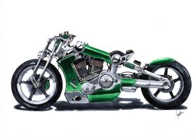 Bike custom by vsdesign69