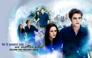Edward and Bella Protection by hazelxxx