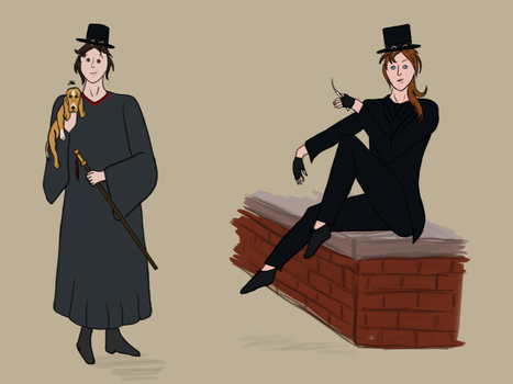 Fallen London Characters by Hazel23