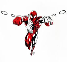 Ben Reilly Scarlet by Aremke