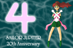Sailor Jupiter 20th Anniversary by ZeFrenchM