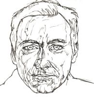 Kevin Spacey sketch by JoshMLange