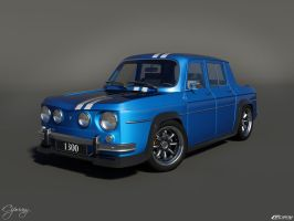 Renault 8 Gordini 1300 by cipriany